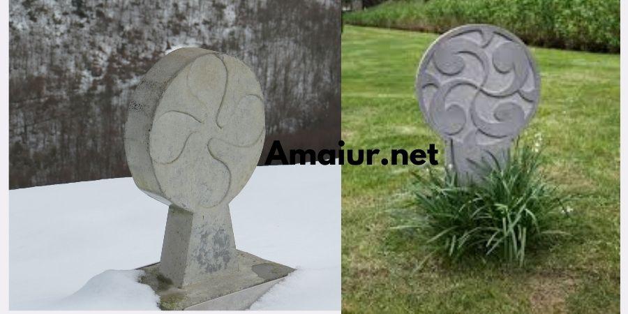 lauburu de piedra